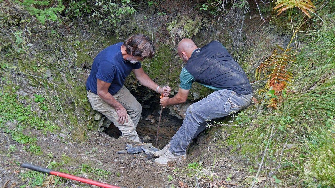 Um in diesem Jahr Erfolge zu erzielen, sind Ausgrabungen an verschiedenen St... - Bildquelle: 2016 A&E Television Networks, LLC. All Rights Reserved