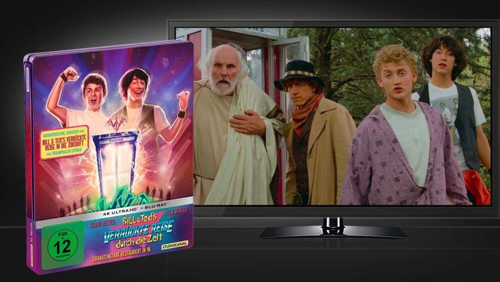 Bill & Teds verrückte Reise durch die Zeit (4K UHD+Blu-ray) - Bildquelle: Foo