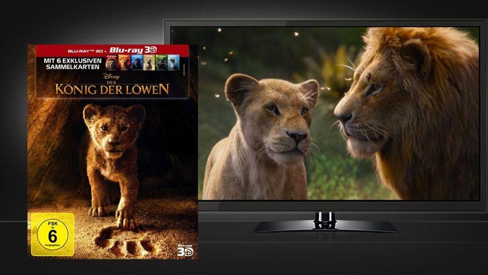 Der König der Löwen 2019 (3D Blu-ray Disc) - Bildquelle: Foo