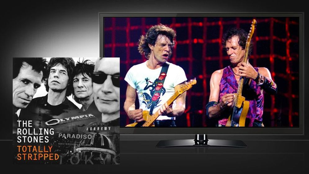 Rolling Stones: Totally Stripped (DVD Deluxe Edition) - Bildquelle: Foo