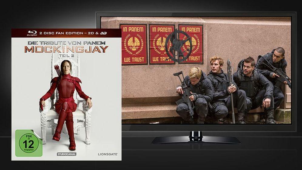 Die Tribute von Panem - Mockingjay Teil 2 (Blu-ray 2D+3D) - Bildquelle: Foo