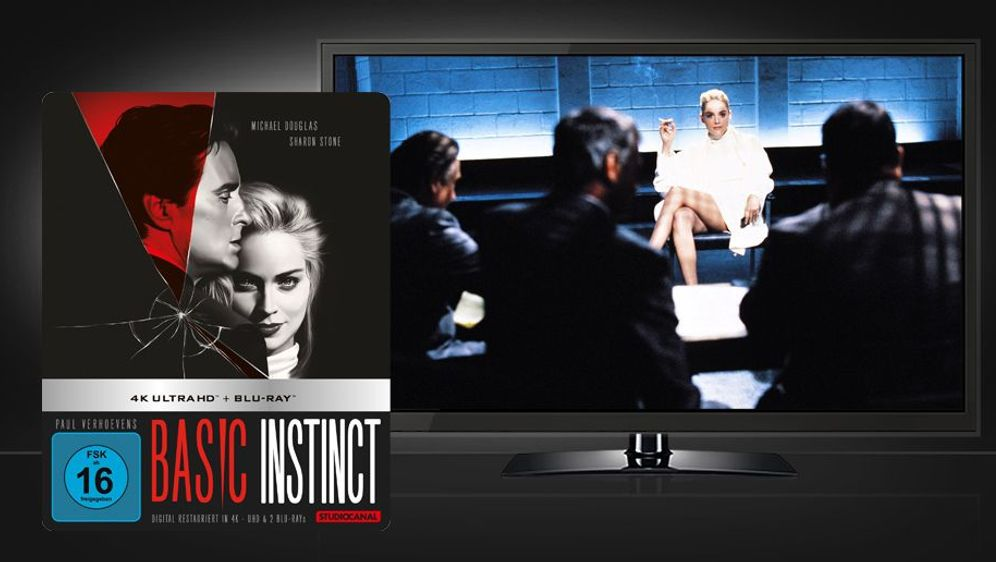 Basic Instinct (UHD+Blu-ray Disc) - Bildquelle: Foo