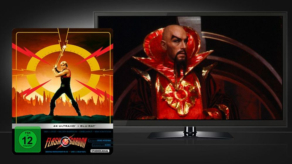 Flash Gordon (4K UHD + Blu-ray Disc) - Bildquelle: Foo