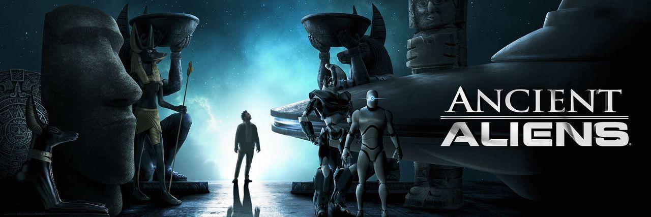 Unerklärliche Phänomene - Ancient Aliens - Artwork - Bildquelle: A&E Television Networks, LLC. All Rights Reserved.