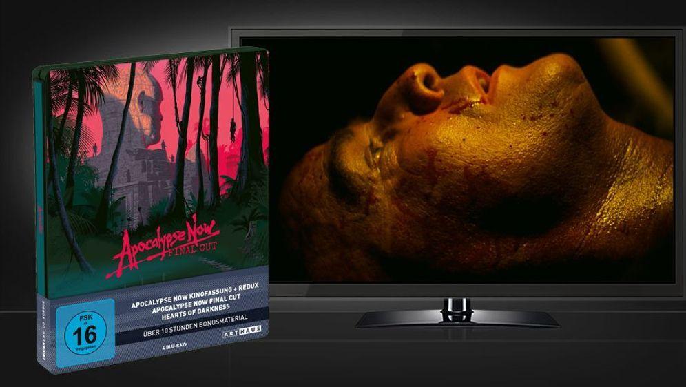 Apocalypse Now - Final Cut (40th Anniversary Steelbook - Blu-ray Disc) - Bildquelle: Foo