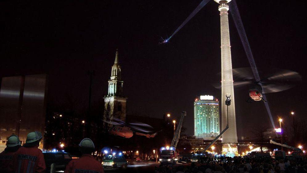Das Inferno - Flammen über Berlin - Bildquelle: Foo