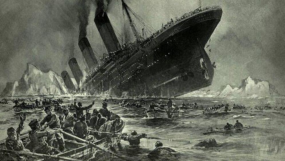 Der Untergang der Titanic - Bildquelle: Willy Stöwer