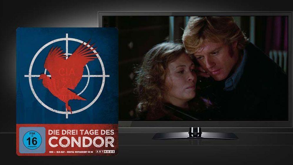 Die drei Tage des Condor (4K UHD + Blu-ray Disc) - Bildquelle: Foo
