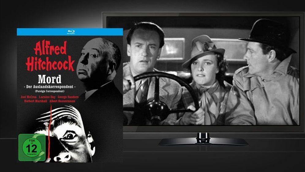 Mord - Der Auslandskorrespondent (Blu-ray Disc) - Bildquelle: Foo