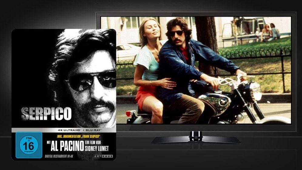 Serpico (4K UHD + Blu-ray Disc) - Bildquelle: Foo