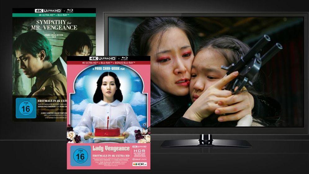 Sympathy for Mr. Vengeance / Lady Vengeance (Mediabooks, UHD + Blu-ray) - Bildquelle: Foo