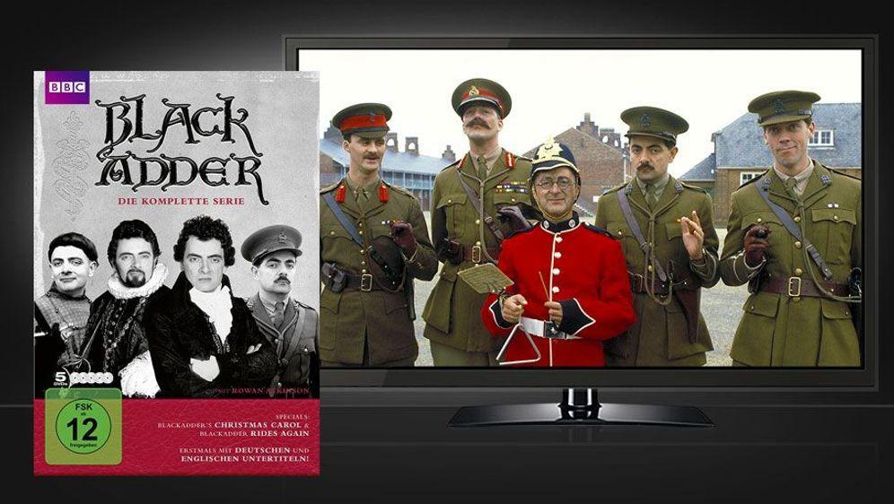 Blackadder - Die komplette Serie (DVD-Box) - Bildquelle: Foo