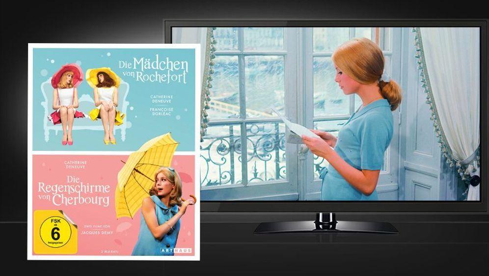 Die Regenschirme von Cherbourg & Die Mädchen von Rochefort (Blu-ray Disc) - Bildquelle: Foo