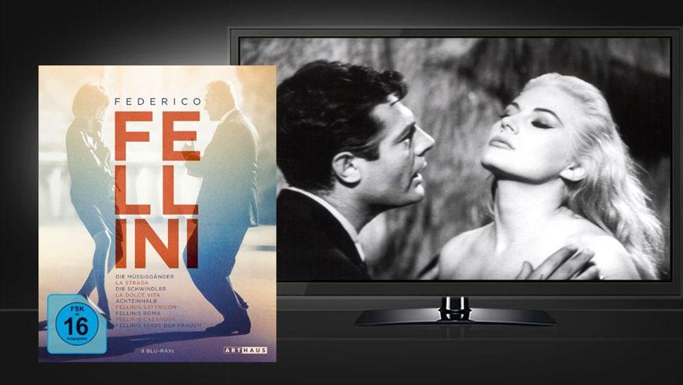 Federico Fellini Edition (Blu-ray Box) - Bildquelle: Foo