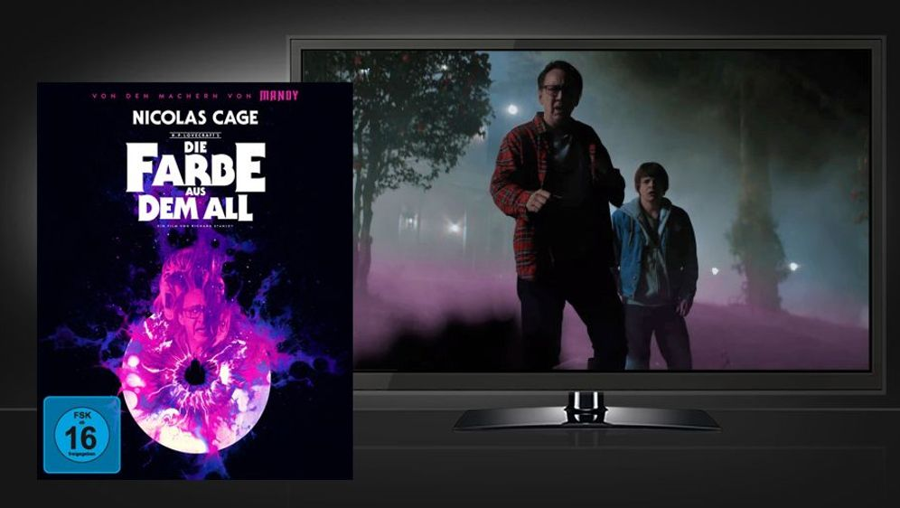 Die Farbe aus dem All (UHD + Blu-ray Disc) - Bildquelle: Foo