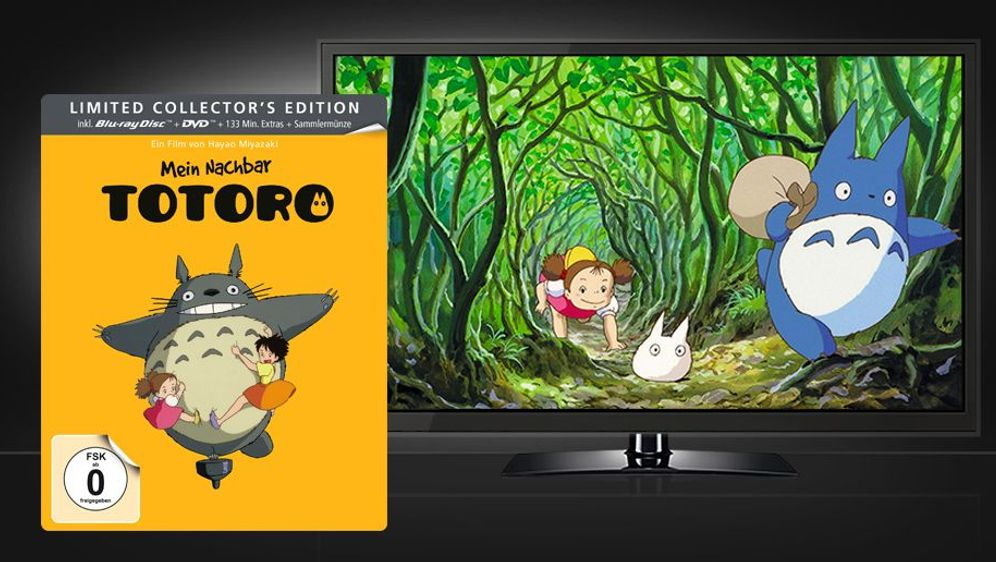Mein Nachbar Totoro - Limited Steelbook Edition (Blu-ray + DVD) - Bildquelle: Foo