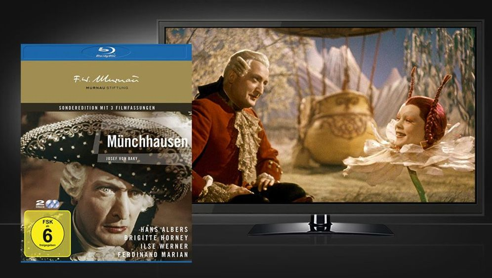 Münchhausen (Blu-ray) - Bildquelle: Foo