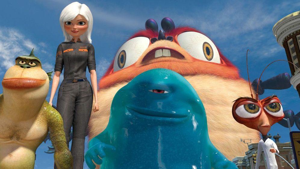 Monsters vs Aliens - Bildquelle: Foo