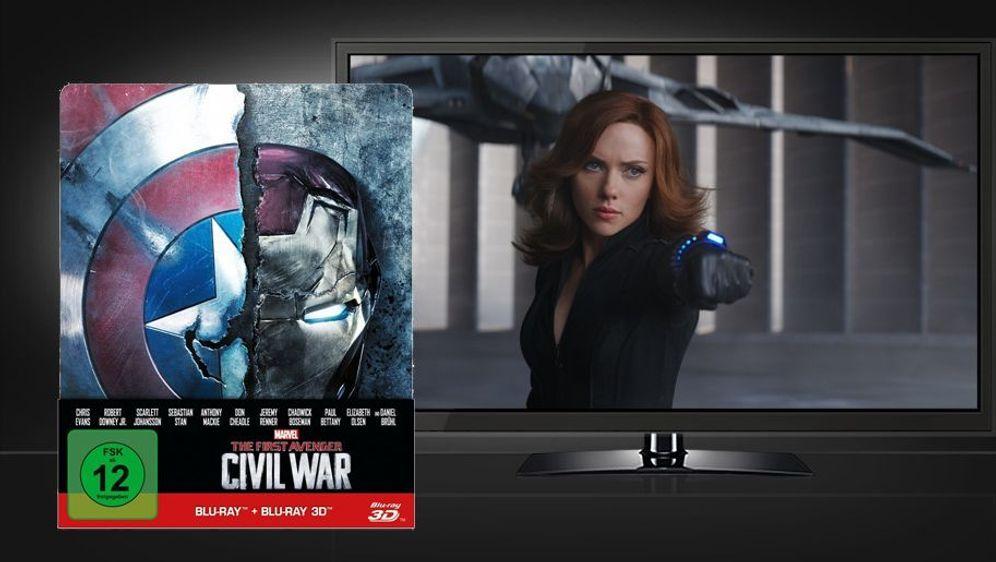 The First Avenger - Civil War (3D Blu-ray Disc im Steelbook) - Bildquelle: Foo