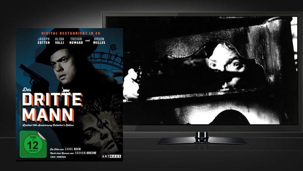Der dritte Mann (70th Anniversary Collector's Edition Blu-ray) - Bildquelle: Foo