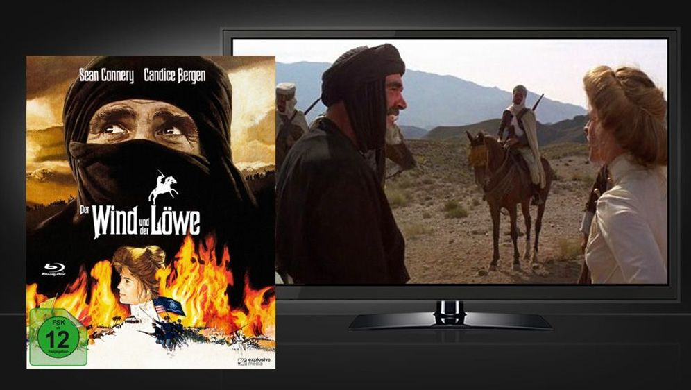 Der Wind und der Löwe (Blu-ray Disc) - Bildquelle: Foo