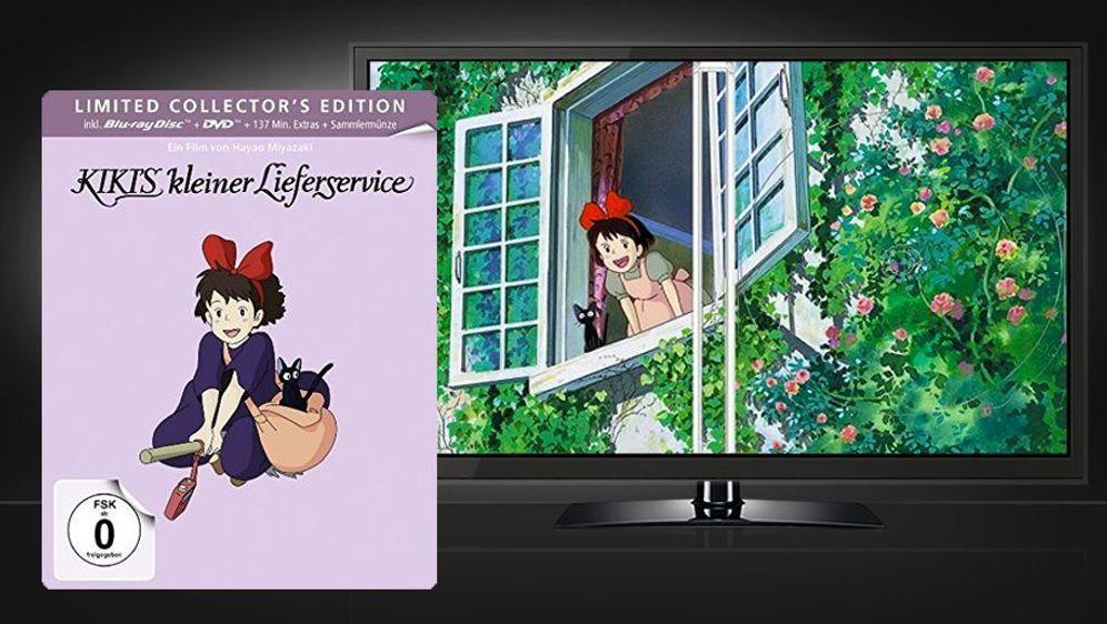 Kikis kleiner Lieferservice (Blu-ray+DVD Steelbook) - Bildquelle: Foo