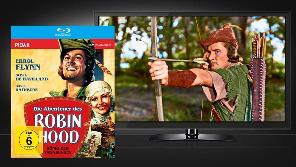 Die Abenteuer des Robin Hood (Blu-ray Disc) - Bildquelle: Foo