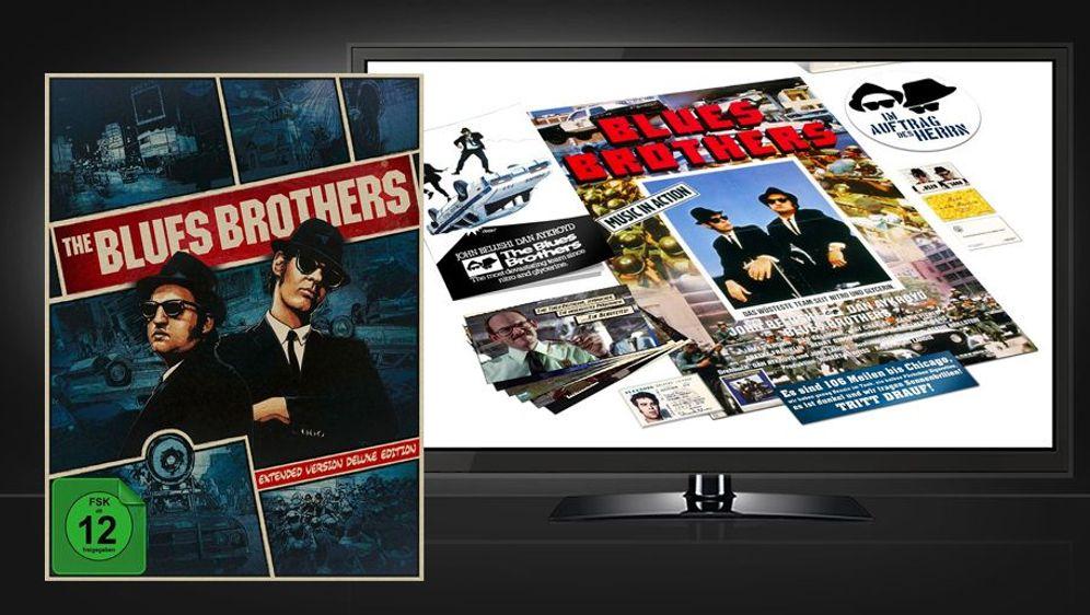 The Blues Brothers (Extended Version Deluxe Limited Digipak Edition - Blu-ra... - Bildquelle: Foo
