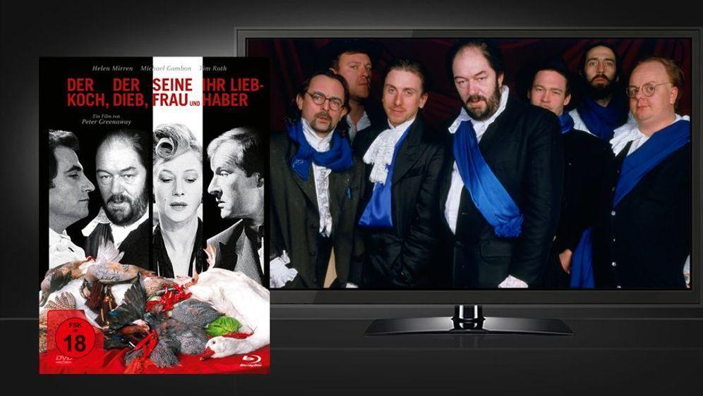 Der Koch, der Dieb, seine Frau und ihr Liebhaber (Mediabook Blu-ray+DVD) - Bildquelle: Foo