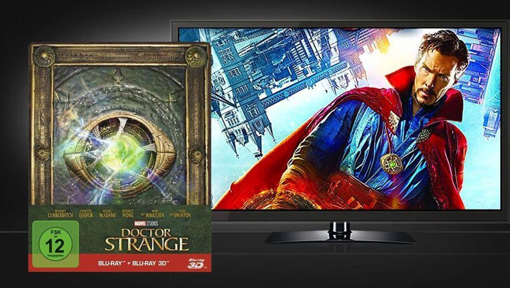 Doctor Strange 3D Blu-ray (Limited Steelbook Edition) - Bildquelle: Foo