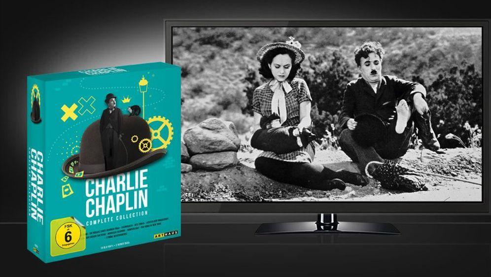 Charlie Chaplin - Complete Collection (Blu-ray Box Set) - Bildquelle: Foo