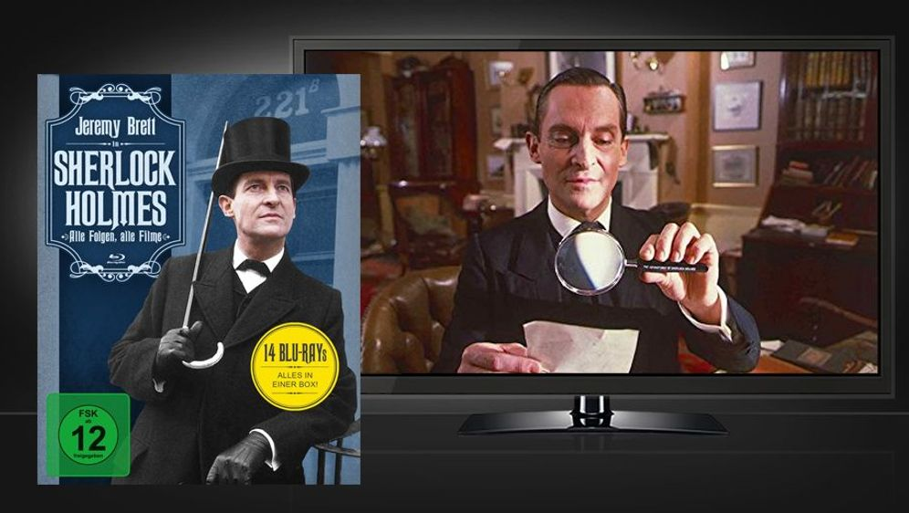 Sherlock Holmes - Alle Folgen, alle Filme (Blu-ray Box) - Bildquelle: Foo