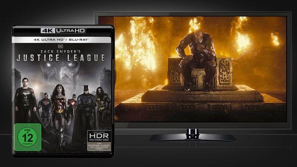 Zack Snyder's Justice League (4K UHD + Blu-ray) - Bildquelle: Foo