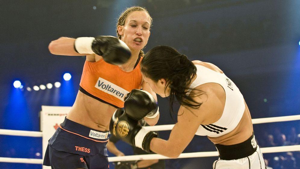 ran - Boxen: WM-Kampf im Kickboxen Christine Theiss vs. Marina Zueva - Bildquelle: Foo