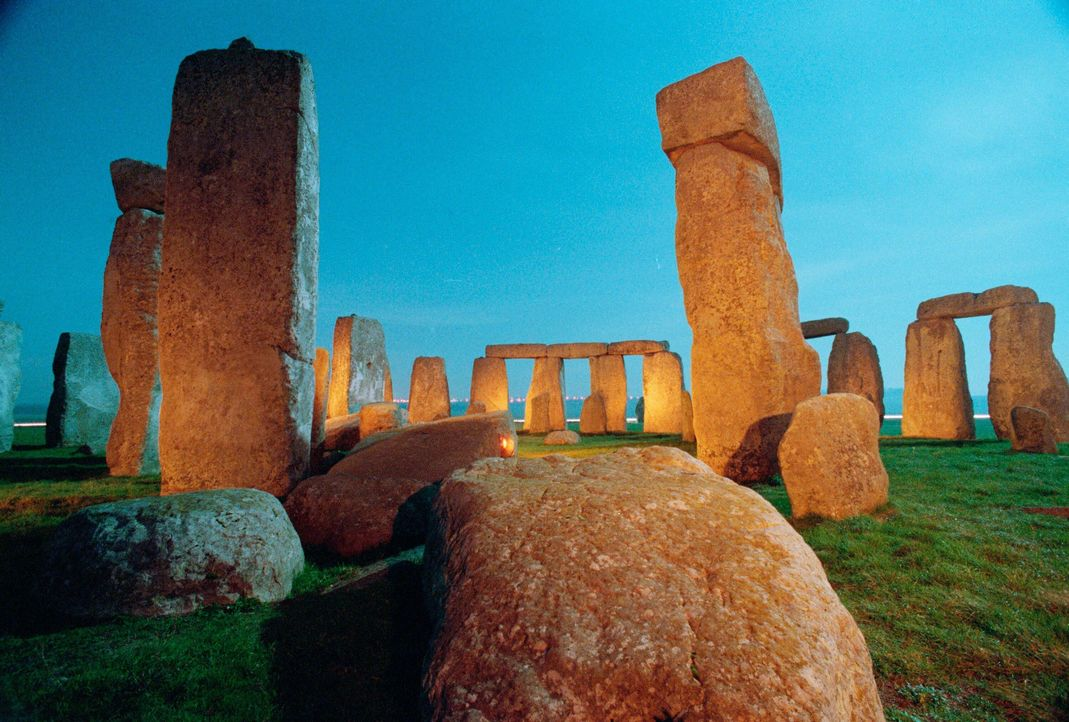 Steinerne Monumente - Bildquelle: A&E Television Networks