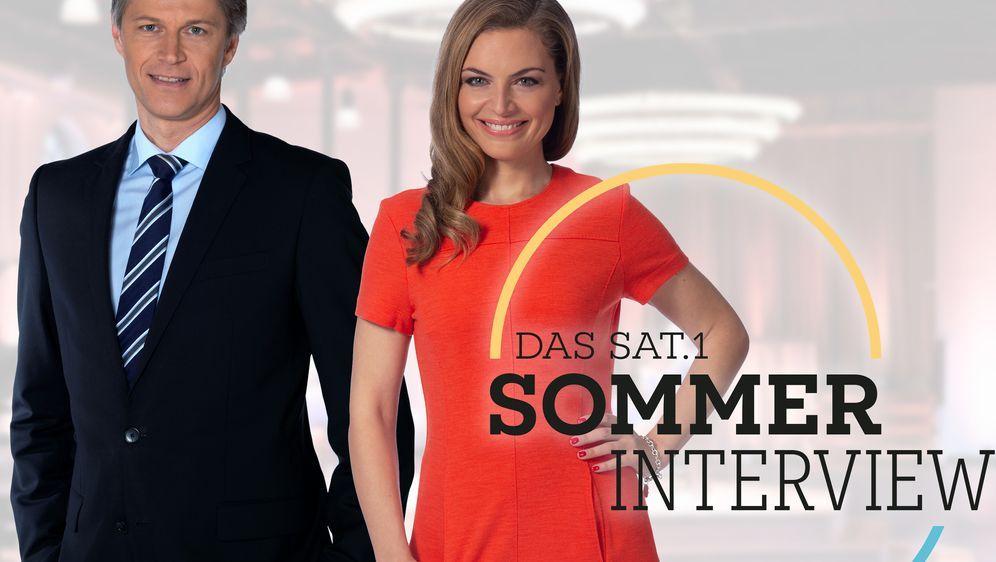 Das SAT.1 Sommerinterview mit Armin Laschet - Bildquelle: Foo