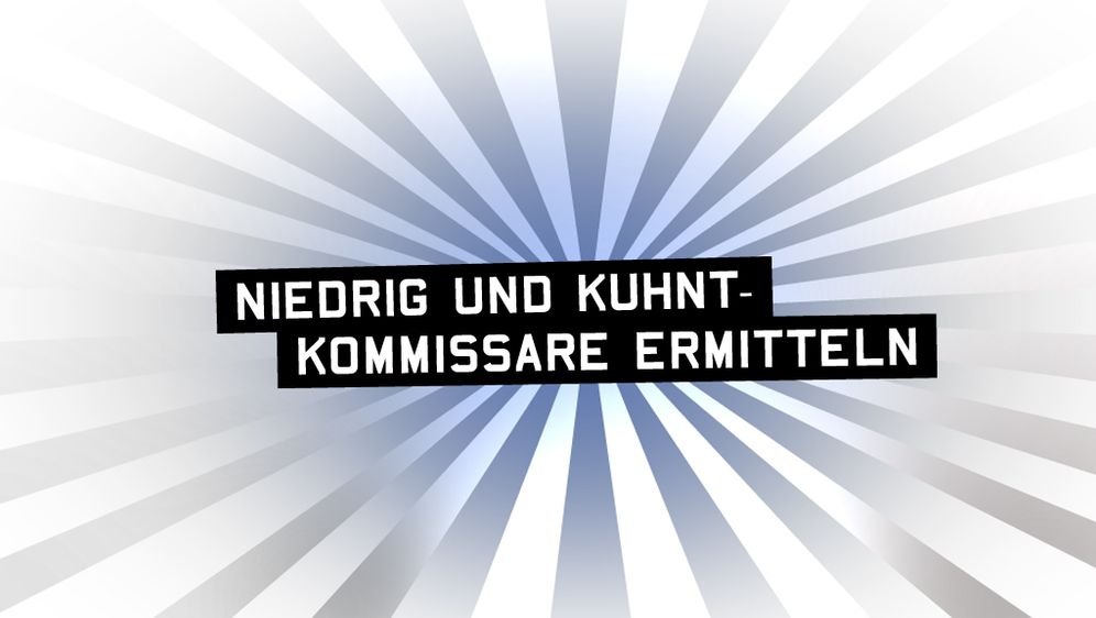 Niedrig und Kuhnt - Kommissare ermitteln - Bildquelle: Foo