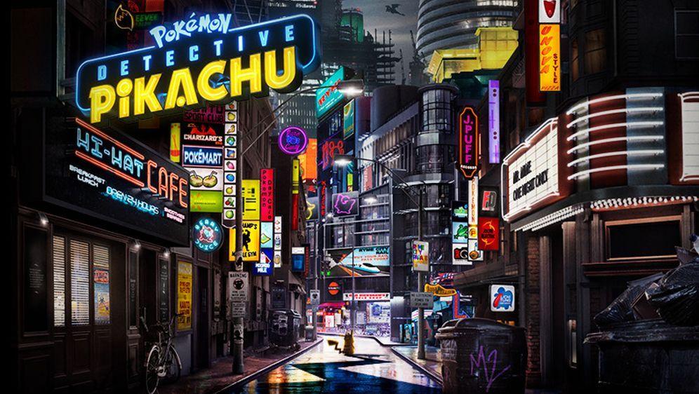 Pokémon Meisterdetektiv Pikachu - Bildquelle: Foo